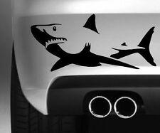 SHARK STYLE 3 CAR BUMPER STICKER DRIFT VINYL DECAL GRAPHIC