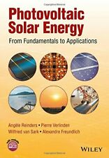 Photovoltaic Solar Energy: From Fundamentals to, Reinders, Verlinden, Van-Sa+=