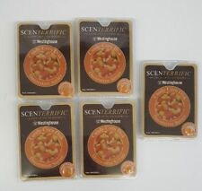 (5) WaxFree Scenterrific Fragrance Disk Refills By Westinghouse ~ Candy Corn