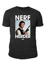 Star Wars - Krieg der Sterne Herren Logo T-Shirt - Han Solo (Schwarz) (S-XL)