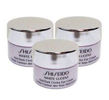 3 X Shiseido White Lucent Anti-dark Circles Eye Cream 2.5ml X 3= 7.5ml
