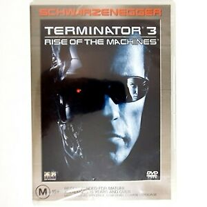 Terminator 3 Rise of the Machines Movie DVD Region 4 AUS Free Post - Action