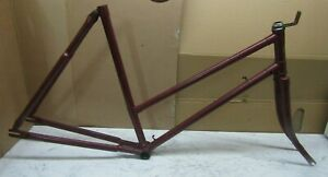 Norman Cycles Vintage Ladies Roadster Traditional Bike Frame Forks Bicycle Women