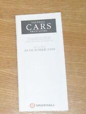 Vauxhall Price Guide 1990 - Nova GSI 1.4 SR Astra GTE SXI Cavalier GSI Carlton
