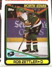 1990 Topps Hockey # 289 Rob Zettler - Many Sports Card Available