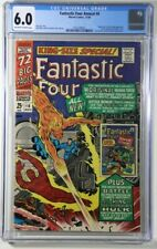 Fantastic Four Annual #4 CGC 6.0 Marvel 1966 Golden Age Human Torch Appearance