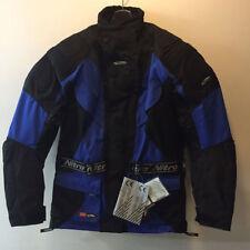 barato oferta Nitro N75 Negro Azul Textil Touring Chaqueta moto motocicleta XS