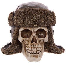 Totenkopf Schädel Totenköpfe Gothic Skull Dekoration Larp 14cm Mystik Deko NEU