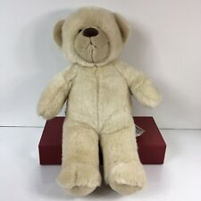 "Build A Bear BAB Blonde Teddy 15"" Tall Stuffed Animal Plush"