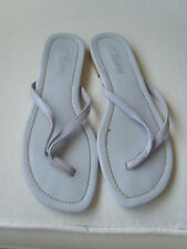 LILAC FLIP FLOPS SIZE 7  ~ CURTESS ~ EXCELLENT CONDITION