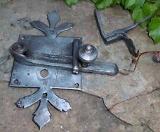 antique Iron Catch Loqueteau de porte  serrure lock