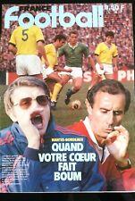 France Football du 11/1/1983; Nantes-Bordeaux/ Bijotat/ Herbin/ Jacquet/ Brésil
