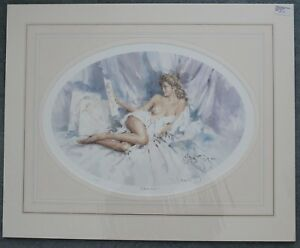 """GORDON KING. """"CATERINA"""". SIGNED LIMITED EDITION PRINT"""