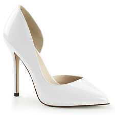 "Pleaser Amuse-22 Womens Shoes Platform Courts D'Orsay 5"" Stilettos High Heels"