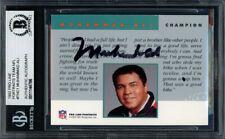 Muhammad Ali Autographed Signed 1992 Proline Card Beckett BAS #11144786