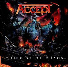 Accept – The Rise Of Chaos CD (2017 Mini-LP Gatefold Sleeve) Heavy Metal