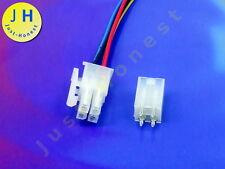 KIT BUCHSE +STECKER 4 polig/pins  HEADER ATX 5mm + Male Connector PCB #A1666