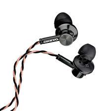 Genuine Onkyo E700M E700MB Hi-Resolution In-Ear Headphones Hi-Res Earbud w/ Mic