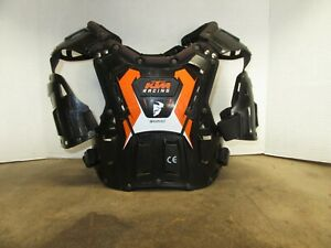 THOR QUADRANT KTM RACING YOUTH 60-100 LBS CHEST PROTECTOR MOTORCYCLE DIRT BIKE