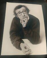 WOODY ALLEN SIGNED 8X10 PHOTO DIRECTOR LEGEND W/COA+PROOF RARE WOW