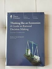 Great Courses -Thinking like an Economist DVDs set,guide book,new,teaching co 2