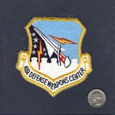 Original ADWC Air Defense Weapons Center F-100 F-106 F-15 USAF Squadron Patch