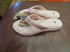 NWT Womens Pink Nike Ultra Comfort Thong Flip Flops, 9
