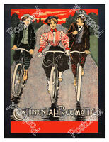 Historic Continental Tyres Advertising Postcard 1
