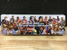 AFL OFFICIAL 2004 AFL CAPTAINS MEDALLION SERIES  FULL SET - EXCELLENT CONDITION