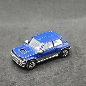 Renault 5 Turbo Corgi Blue Die-Cast Vintage Vehicle 1985 Mettoy