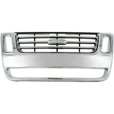 NEW Chrome Grille For 2006-2010 Ford Explorer 2007-2010 Sport Trac FO1200477