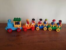 Duplo train with passengers and driver bundle