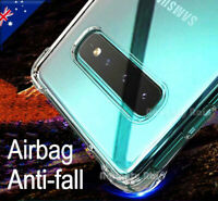 For Samsung Galaxy S8 S9 S10 S10e Note 8 9 10 Plus Clear Case Heavy Duty Cover