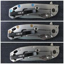 Custom Titanium Handle Scale Screws Made for ZT0566 Zero Tolerance ZT 566 0566