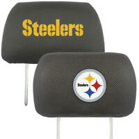 Pittsburgh Steelers Embroidered  2-Pack Auto Car Truck Headrest Covers