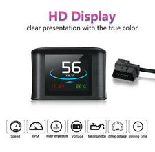 HUD Display  Smart Driving Computer Heads Up  OBD 2  P10 2.2 Inch  Speedometer