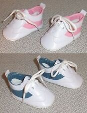 2 Pairs of Sport Shoes PINK & BLUE (Doll Shoes) for Magic Attic Club Dolls