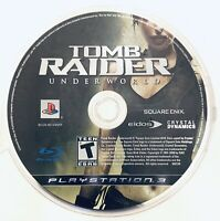 Tomb Raider: Underworld (Sony PlayStation 3, 2008) Disc Only Tested