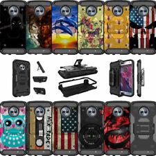 For Motorola Moto X4   Moto X 4th Gen XT1900 (2017) Clip Case with Kickstand