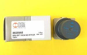 "Metal Work/Bit Pneumatic Mini Regulator 88259A5 0-4 h20 bar 1/8"""