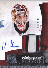 10-11 Henrik Karlsson The Cup Auto Rookie Card RC #140 Jersey Patch 156/249 Mint