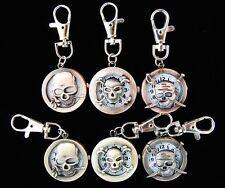 Bulk lots 10 pcs Skull style Key Ring watches gifts L4