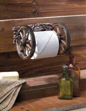 Wagon Wheel Toilet Paper Holder Westen Decor