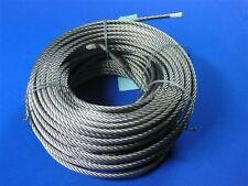 FUNE ACCIAIO a 114 fili diametro 8 mm. in matassa da 100 mt.