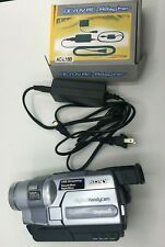 Sony Dcr-Trv250 Digital 8 Camcorder Vcr Player Camera w/ Charger (No Battery)