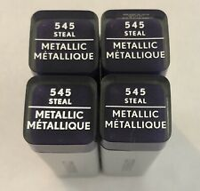 (4) Covergirl Exhibitionist Metallic Lipstick, 545 Steal