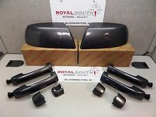 Toyota Tundra Magnetic Gray Mirror Covers & 4 Door Handle Kit Genuine OE OEM