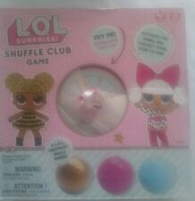 LOL Surprise Shuffle Club Game With 4 Surprise Balls!