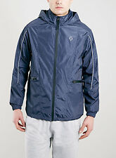 BNWT Topman Navy Blue Outdoor Sport Jacket, Size M, RRP £55