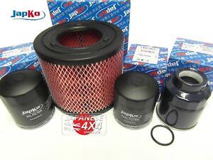 fits ISUZU RODEO 3.0TD TFS77  Oil, Air, Fuel & Water Trap Filter Kit for 2003-06
